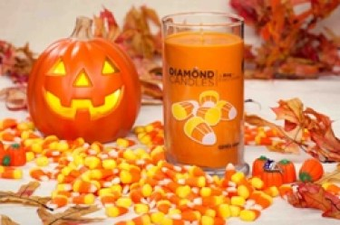 diamond candles for Halloween