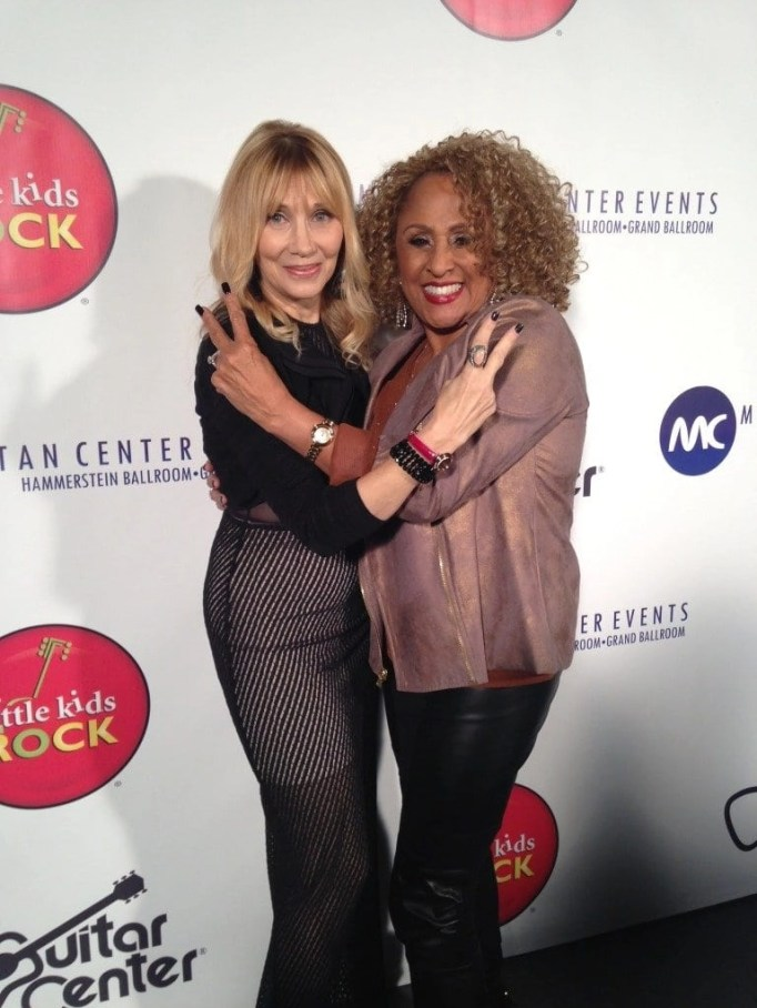 Maureen Van Zandt and Darlene Love wearing those amazing Citizen watches