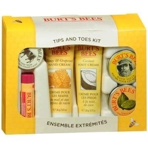 burts bees holiday tips and toes set