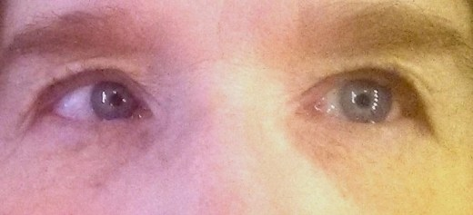 my lashes before