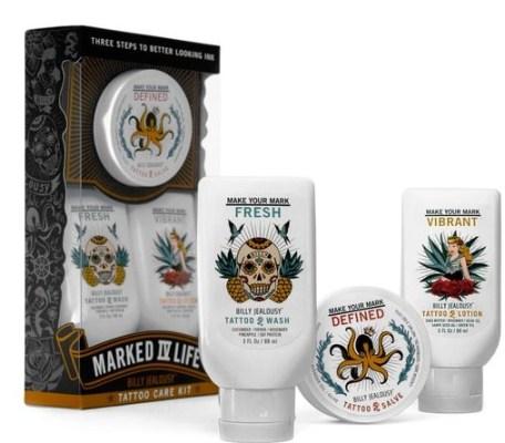 Billy Jealousy Marked IV Life Tattoo Care Kit $40