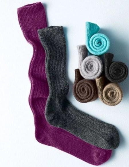 garnet hill cashmere socks