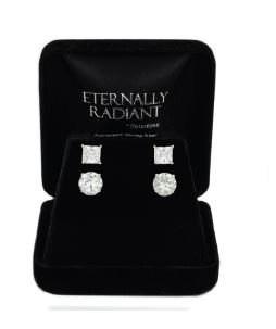 roman and sunstone CZ earrings