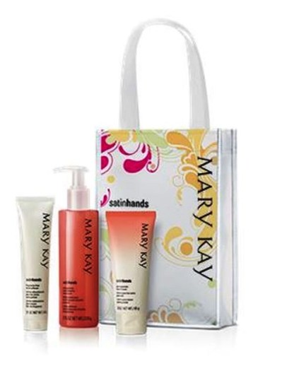 Satin Hands Pomegranate Pampering set by Mary Kay