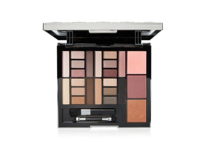 macy's eye shadow and blush palette