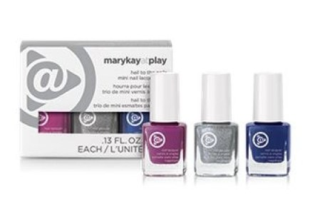 mary kay hail to the nails mini lacquer trio