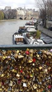 lovers bridge in Paris (photo copyright 2014 Alison Blackman)