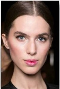 backstage BEAUTY: Le Metier de Beaute for Erin Featherston A/W 2015  @MetierBeaute, #NYFW, #fashion