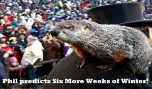 Winter is here to stay, at least for 6 more weeks (Punxsutawney Phil