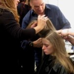 backstage beauty: Rodney Cutler rocks (nearly) effortless hair for @TadashiShoji, @Redken5thAve ,@CutlerSalon, #NYFW, #Cutler4Redken, #RedkenReady