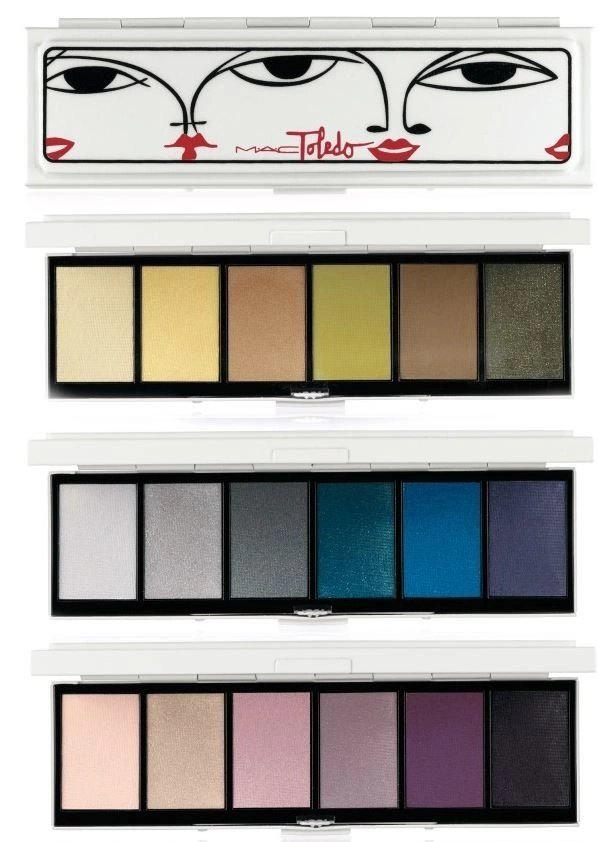 I really wanted to try thesr eye shadow palettes. The colors are just so cheerful!