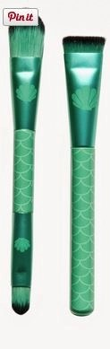 Ariel Mermaid grene brushes