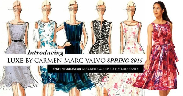 Carmen Marc Valvo dresses you for Date Night @DRESSBAR @CarmenMarcValvo #dressbar