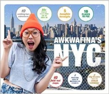 book cover awkwafina's nyc