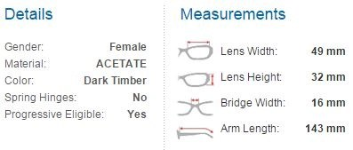 derek cardigan glasses detailed description