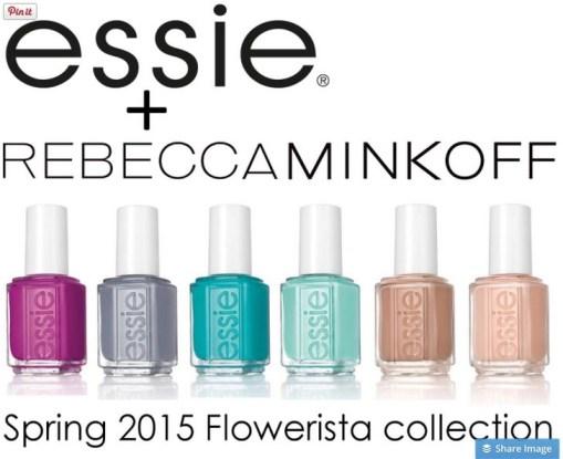 essie rebecca minkoff florwerista collection spring 2015