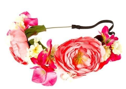 hydrangea flower crown