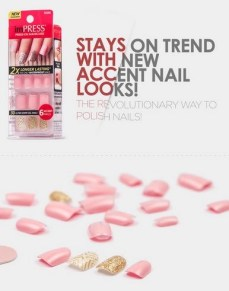 symphony accent nails loose