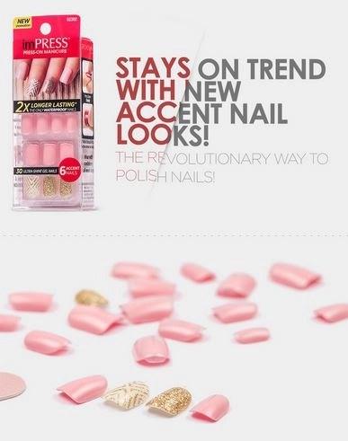 symphony accent nails loose