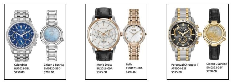 citizen watch pairs group1