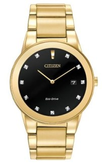 Citizen Eco-Drive AXIOM MODEL: AU1062-56G   MSRP $325