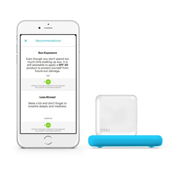Introducing OKU, the World's 1ST Mobile-based Personal Skin Coach (WIN ONE!) @get_OKU,  #MirrorMirror, #contest