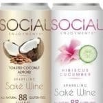 social enjoyments sparkling sake wine