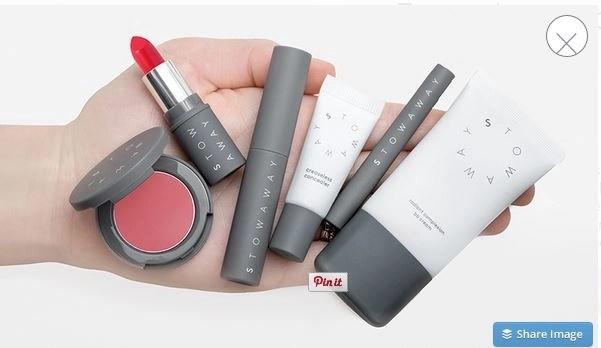 stowaway cosmetics in hand