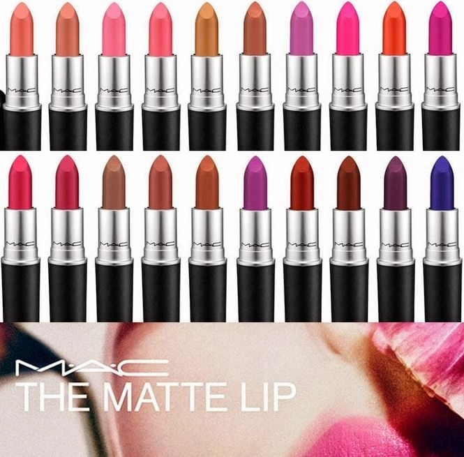 maC COSMETICS THE MATTE LIP COLLECTION SUMMER 2015