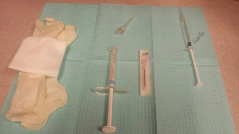 items needed for treatment
