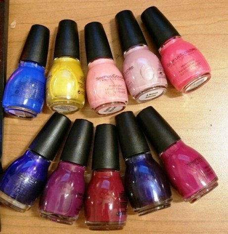 sinful colors runway ready collection