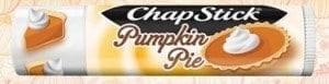 limited editon pumpkin pie chapstick