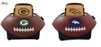"""Toast"" the seaon with one of these football toasters"
