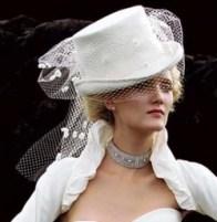 bride at a fashion shoot