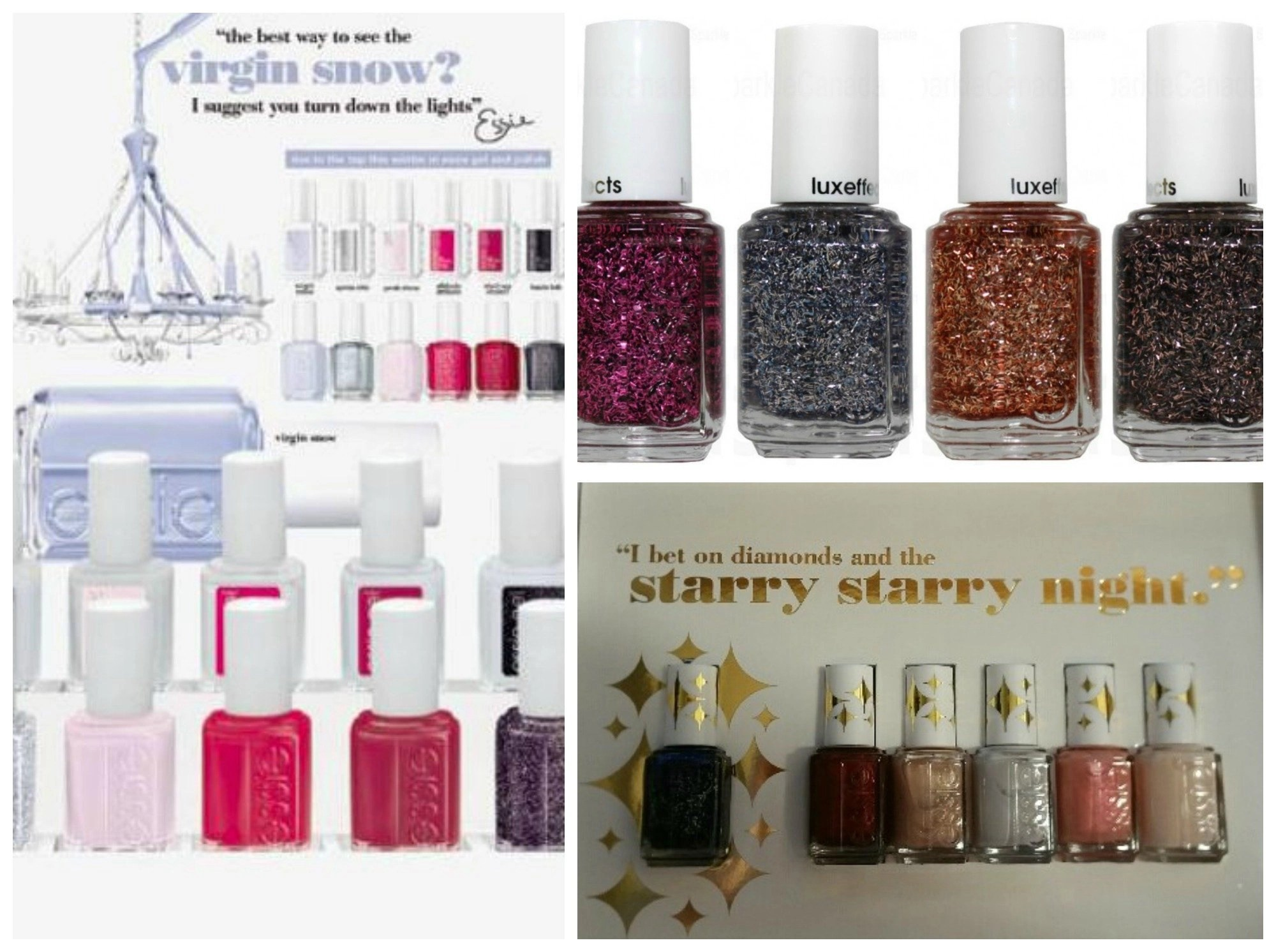 Essie Nails the holiday and Winter 2015! @Essie, #Beauty, #Nails