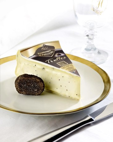 fromage daffinois with truffles