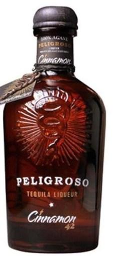 Peligrosos cinnamon tequila bottle
