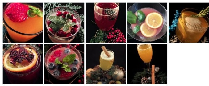 punzone organic vodka cocktails