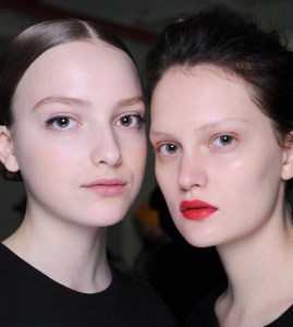 NARS Backstage Beauty Report:James Boehmer for Mansur Gavriel AW16 @NARS, #Narsissist, #JamesBoehmer