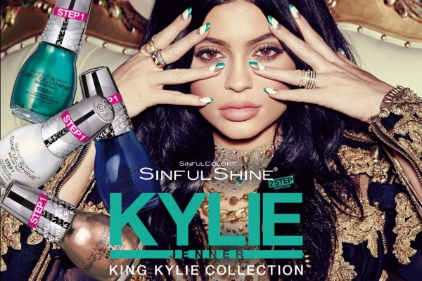 """SO """"Sinful"""" for Nails: a limited edition """"Kollaboration"""" with Kylie Jenner @SinfulColors_NP,  #SinfulKingKylie"""
