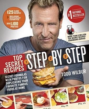 book top secret recipes step by step