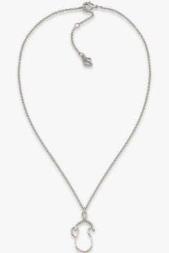 carolee charm necklace chain and holder