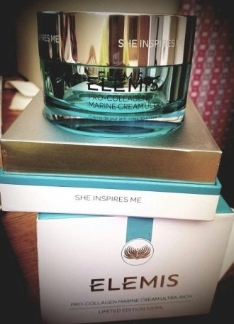 elemis pro collagen marine cream ultra rich on box