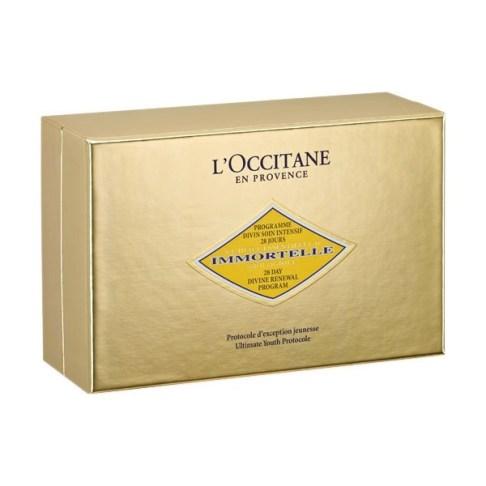 loccitane 28 day divine renewal program box