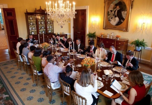 a seder at the White House in 2012