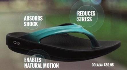 oofos thong sandal