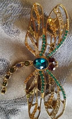 Carolee Enchanted Dragonfly Pin
