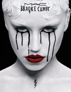 Brooke Candy and Twisted Lash Mascara New and Nifty by MAC Cosmetics