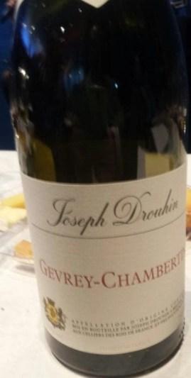 gevrey Chambourtin wine