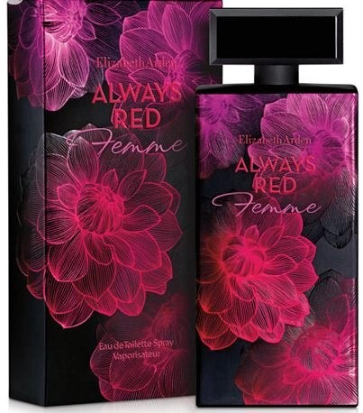 Review of Always Red Femme, a new fragrance from Elizabeth Arden
